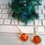 Bead Earring or Pendant Tutorial