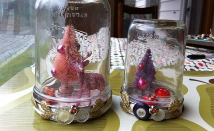 make it: holiday snowglobes