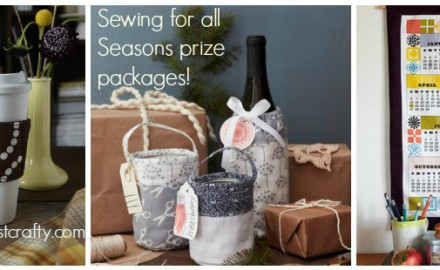 sewing for all seasons release day + giveaways!