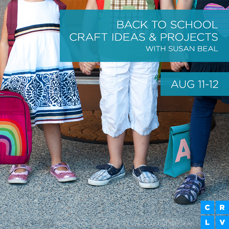 back to school crafts on creativeLIVE
