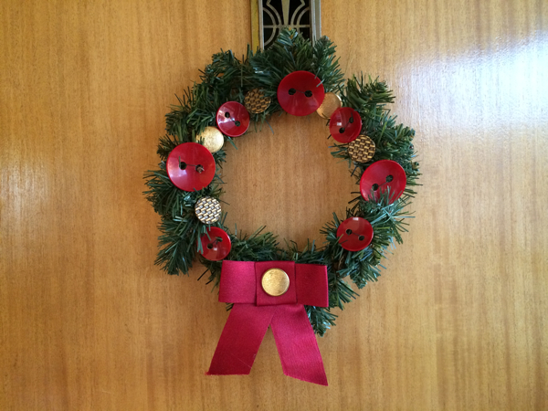 holiday wool wreath 13