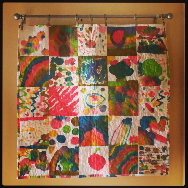 2 Auction quilt