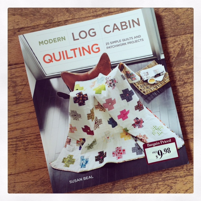 Modern Log Cabin Quilting for Barnes & Noble