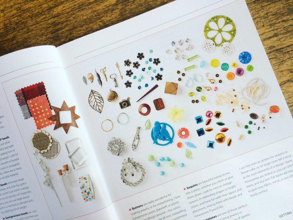 Bead Sparkle - vintage ephemera - westcoastcrafty.com