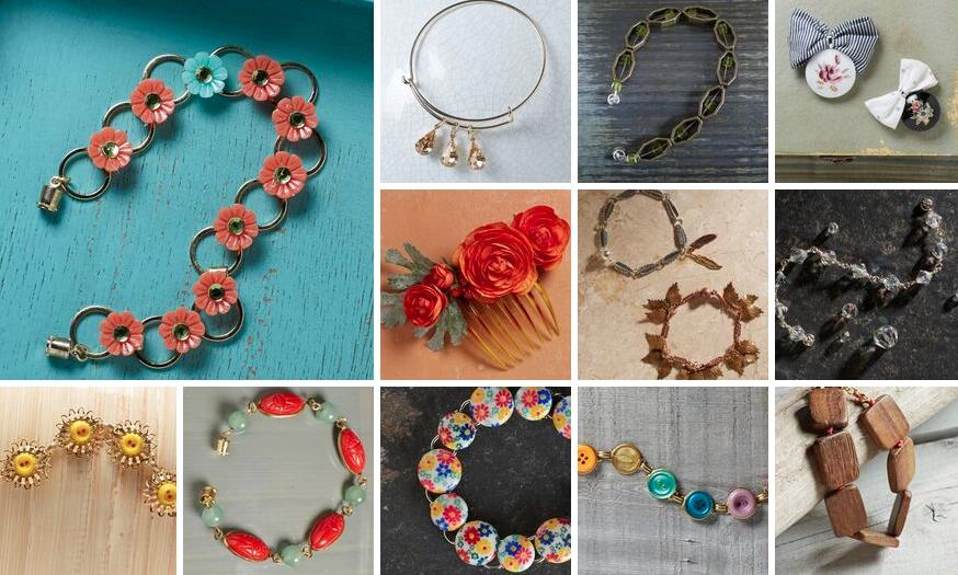 Bead Sparkle bracelets - westcoastcrafty.com