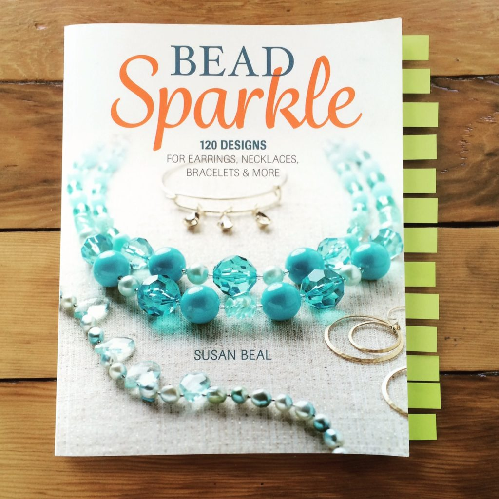Bead Sparkle with Collage projects marked - west coast crafty