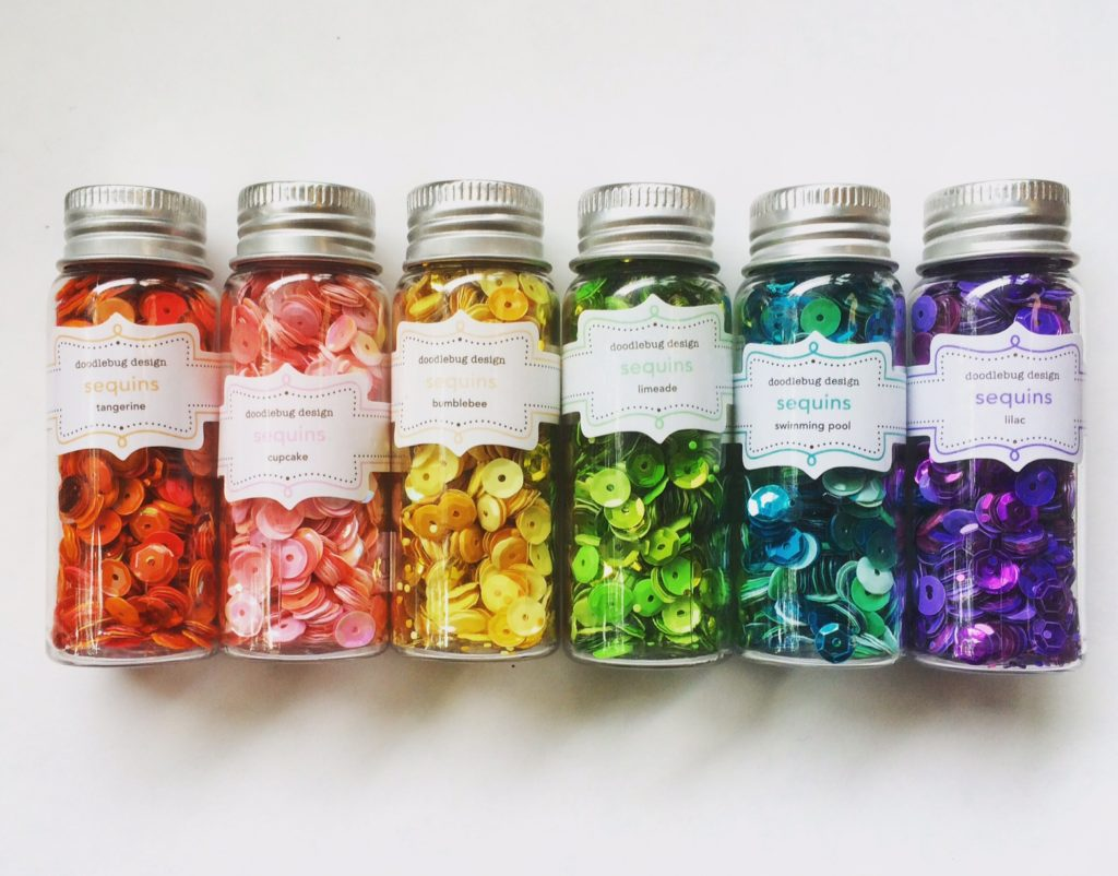 Six colors of sequins for Bead Sparkle! - west coast crafty