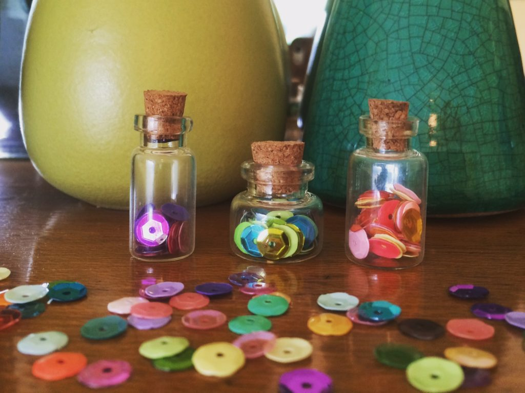 Pearl's Sparkle Jars from Bead Sparkle - west coast crafty