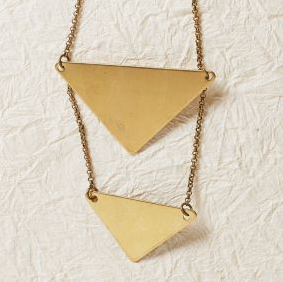 Triangle Duo Necklace - Cathy Zwicker