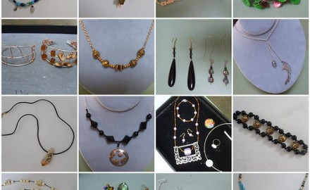 bead + button jewelry loveliness