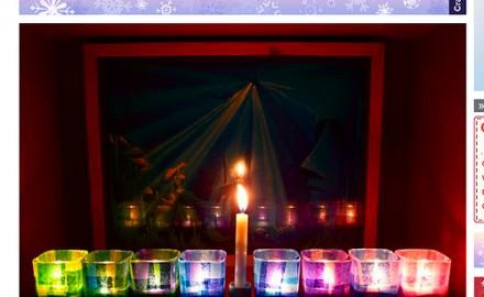 Christmas cheer + Hanukkah happiness