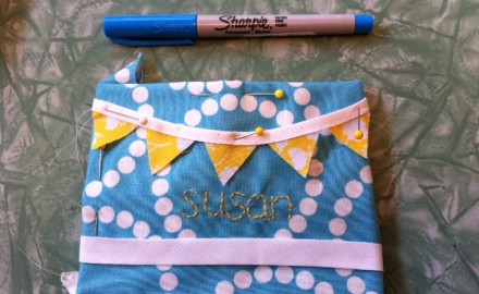 name tags, skirts, + sew expo