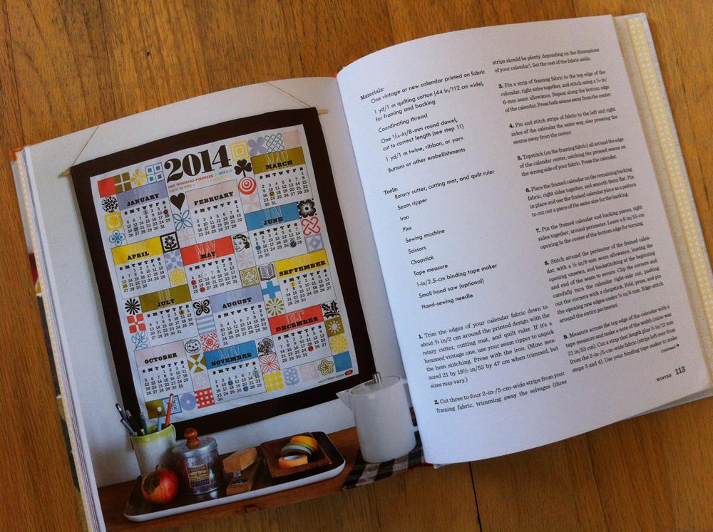 new year's calendar photo
