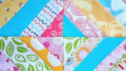 picnic string quilt block tutorial!