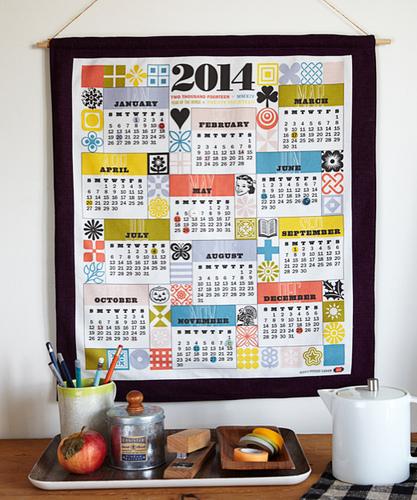 new year's calendar