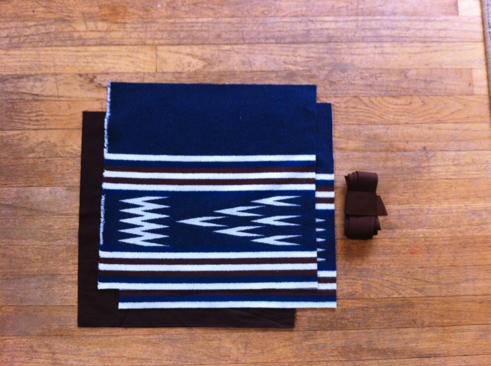 Border Print Wool Tote Tutorial 3