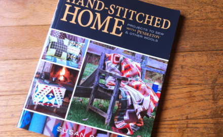 hand-stitched home – book release day!