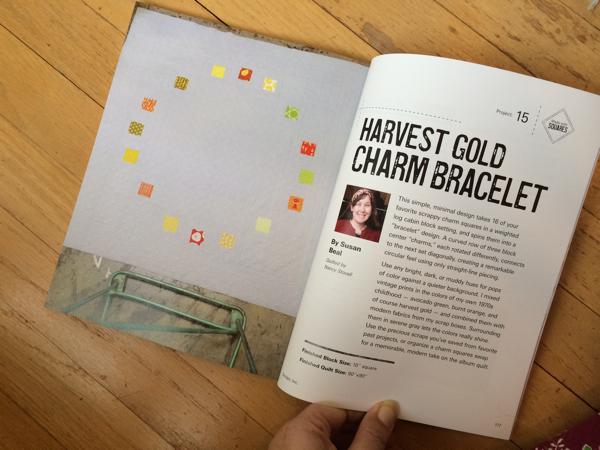 Harvest Gold Charm Bracelet