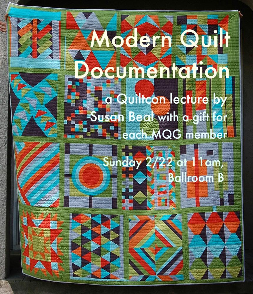 Modern Quilt Documentation