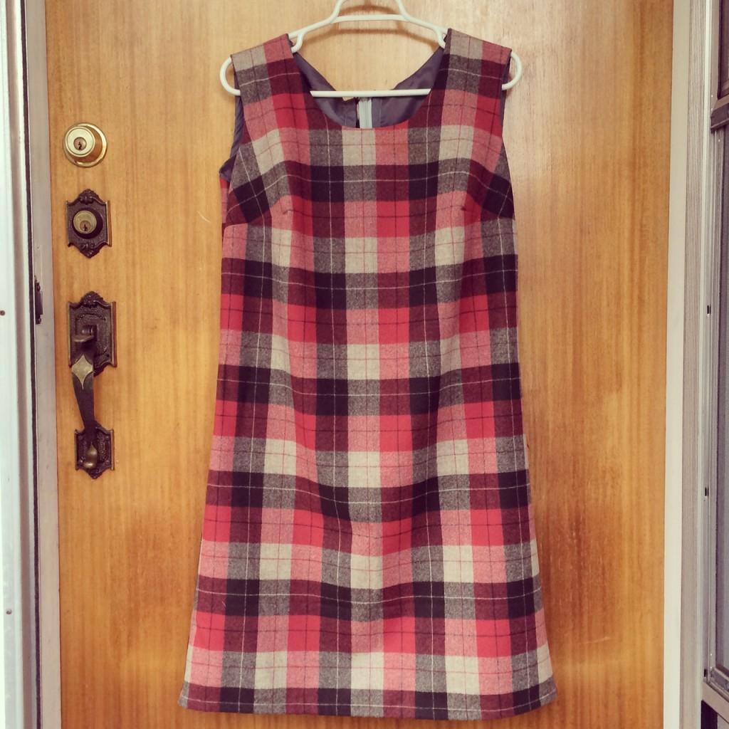 my Pendleton plaid Laurel dress!