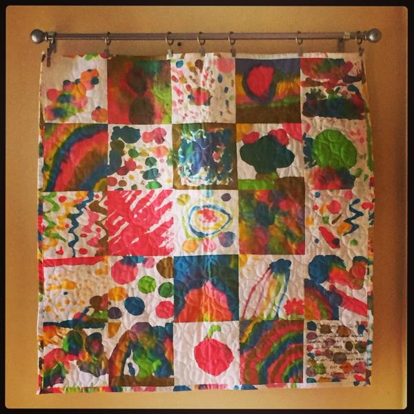 2 Auction quilt