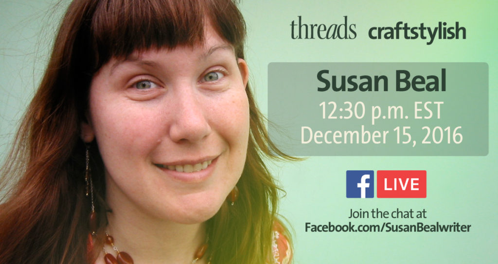 Susan Beal on FB Live, December 15