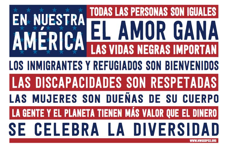 En Nuestra America - NWGSDPDX
